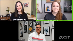 All Pet Voices COFFEE Chat on Facebook with CUDDLY CEO John Hussey on #MyUnspokenPet