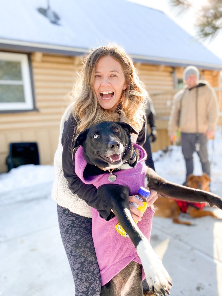 CUDDLY Employee with pet dog #MyUnspokenPet