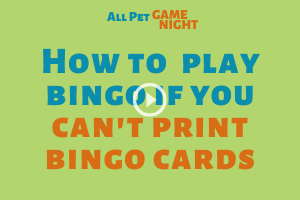 How to play bingo without printed cards
