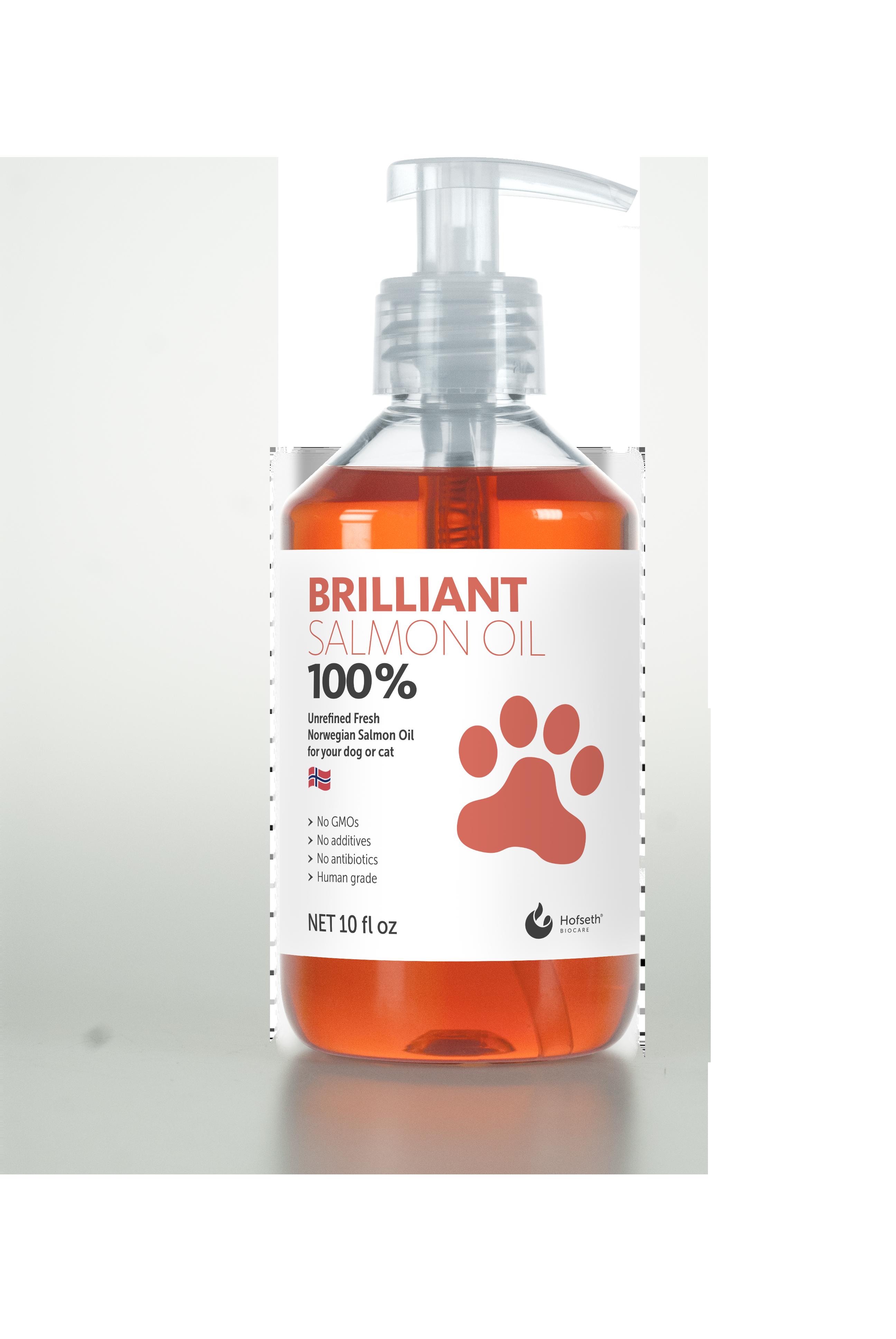 Brilliant Salmon Oil for dogs