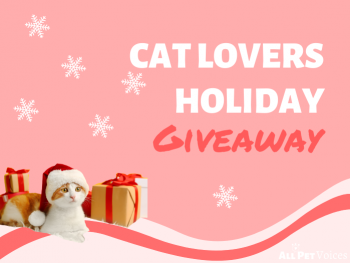 Cat Lovers Holiday Giveaway pic