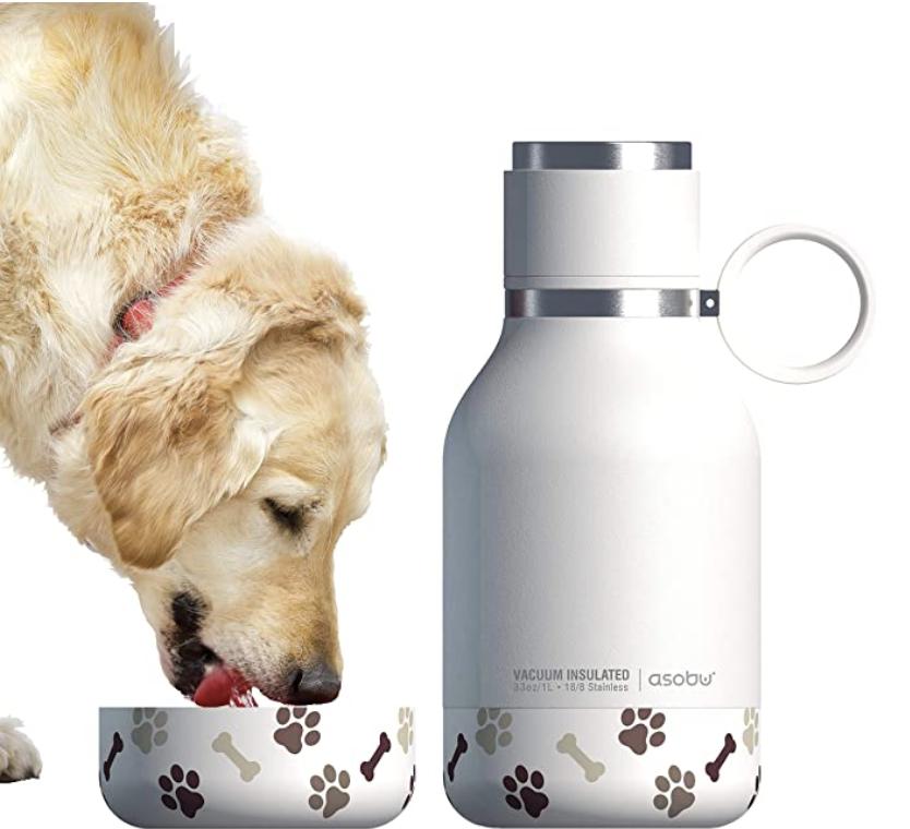 Asobu Dog Water Bowl Water Bottle