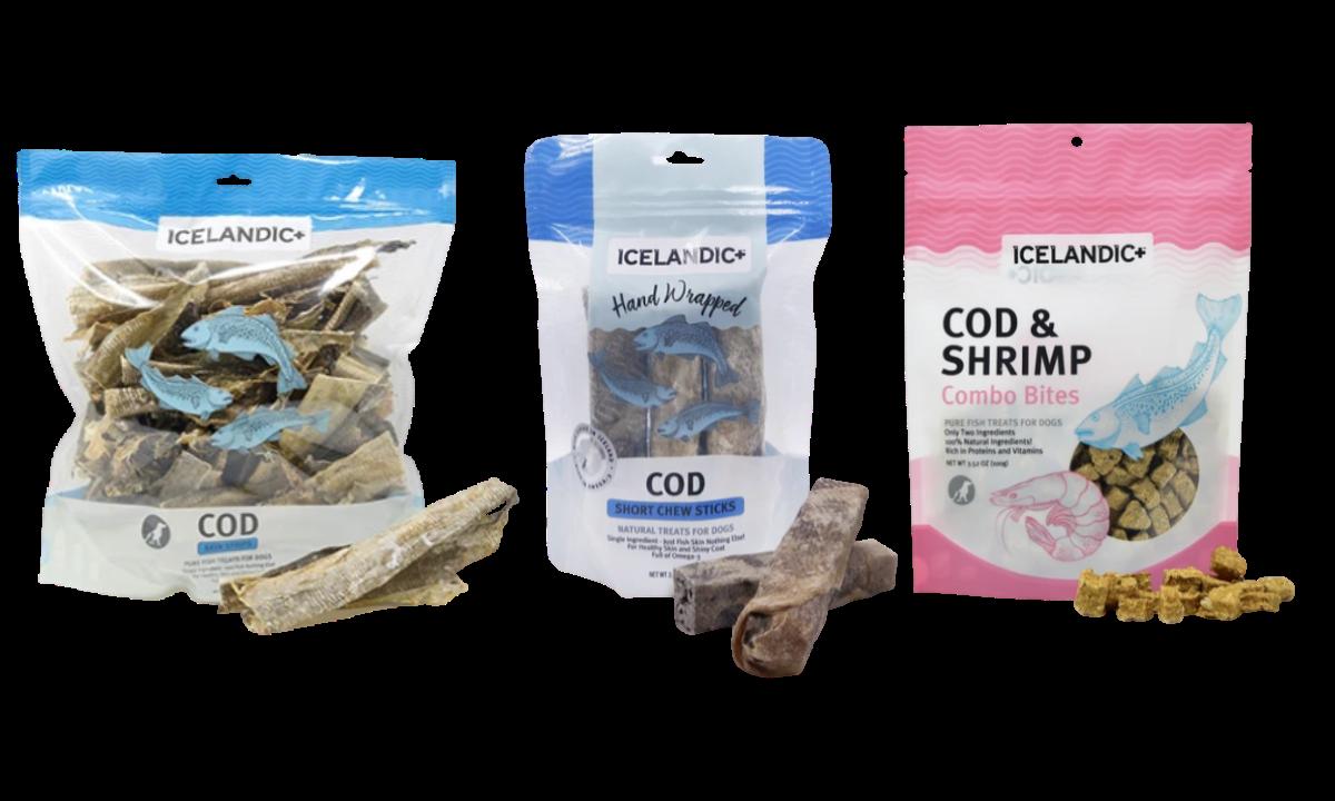 Icelandic+ Fish dog treats