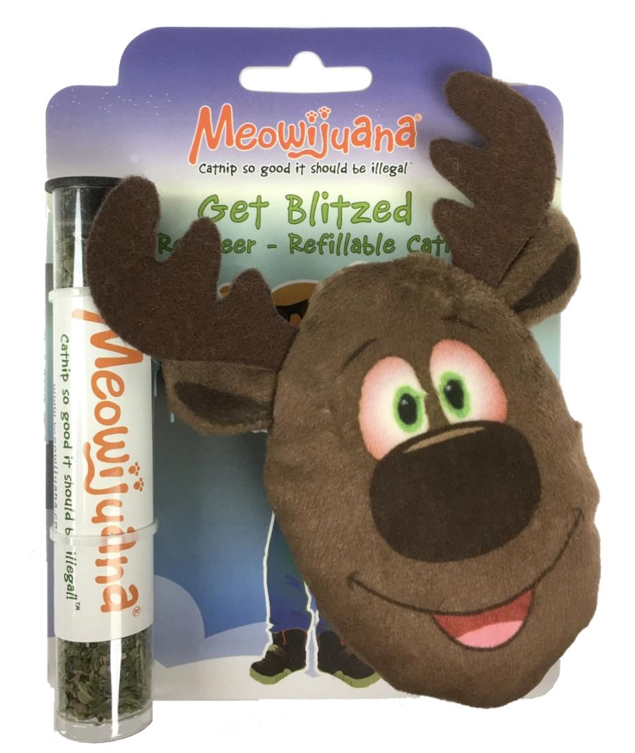 Meowijuana Reindeer Catnip Toy