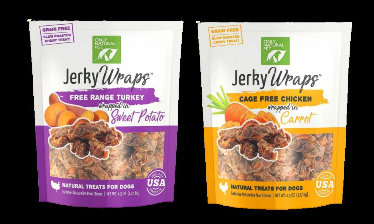 Only Natural Pet Jerky Wraps dog treats