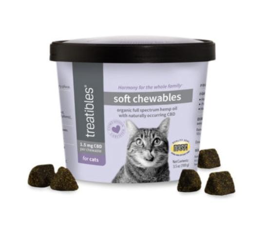 Treatibles Soft Cat Chews