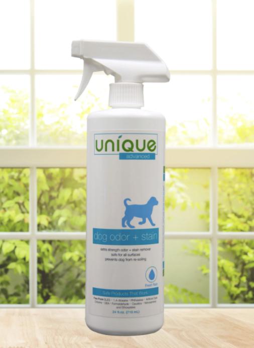 Unique Pet Care advanced dog odor cleaner