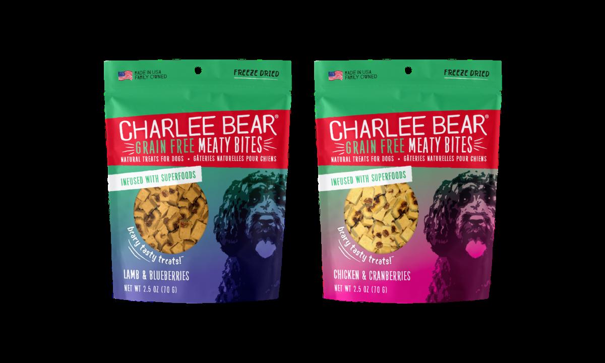 Charlee Bear Meaty Bites Dog Treats