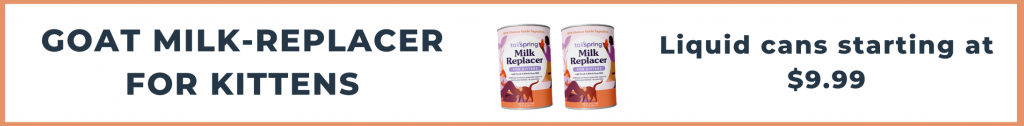 Tailspring Milk-replacer for kittens liquid starting at $9.99