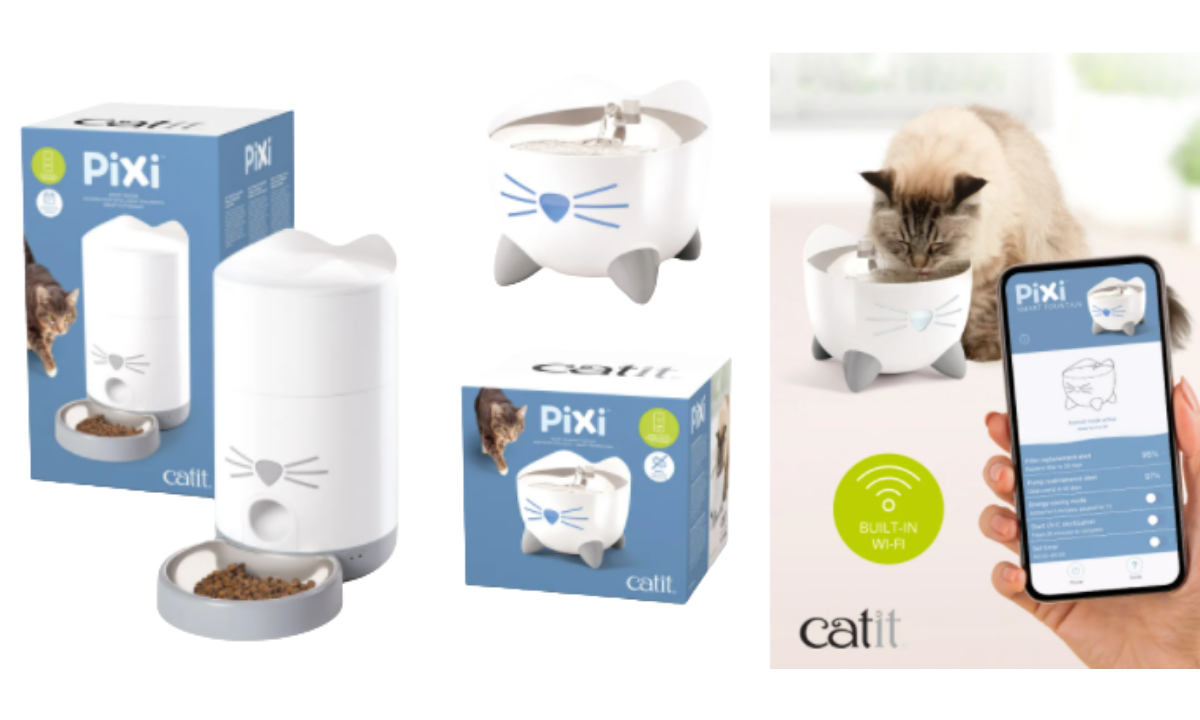 Catit Smart Feeder and Smart Fountain