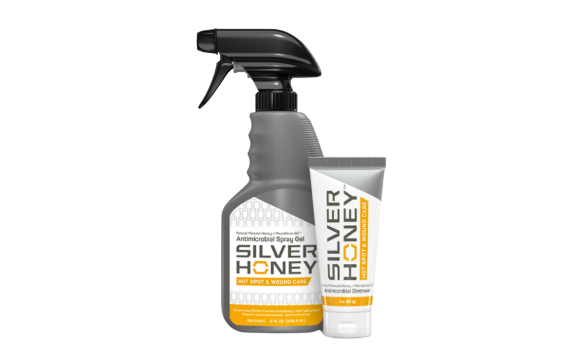 Silver Honey Antimicrobial Spray and Gel