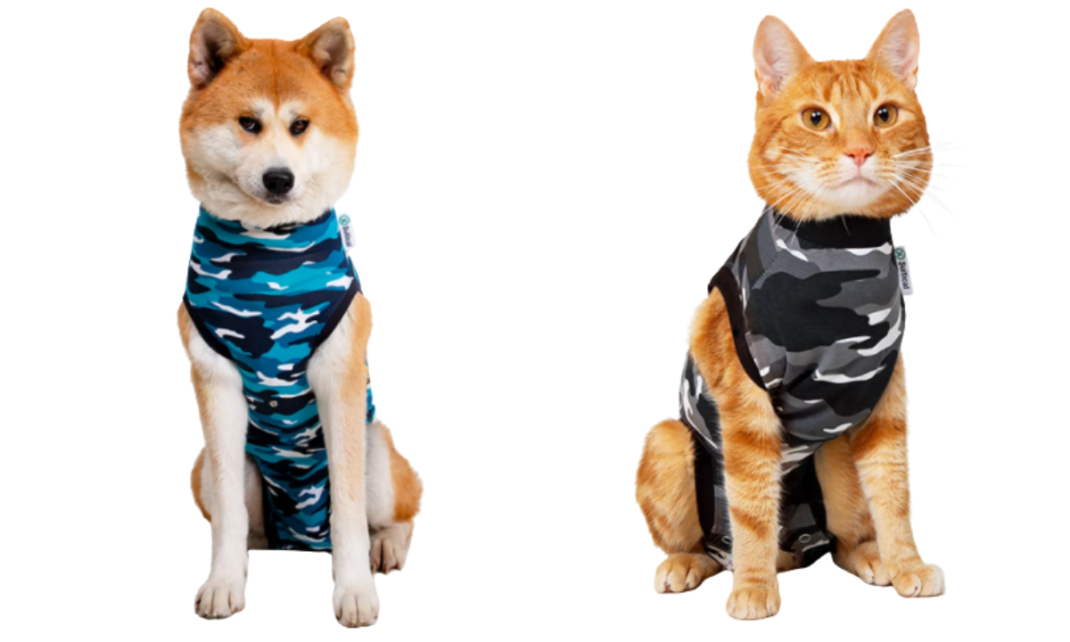 Suitical pet protection suits for dogs and cats