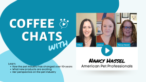 COFFEE Chat promo with Nancy Hassel